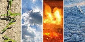 esprit neutre, élémental, 4 éléments