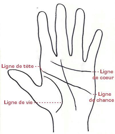 divination lignes de la main